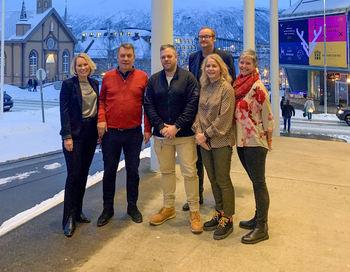 Tromsø fikk bærekraftsmerke av Innovasjon Norge - 18 desember 2019 - Foto Malin Mathisen i Visit Tromsø