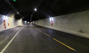 Harstadåstunnelen-innvendig