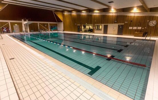 Møglestu svømmehall Foto: