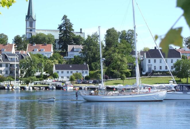 Lillesand havn Foto: