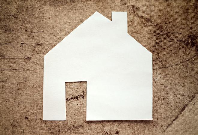 Model house, construction, house building