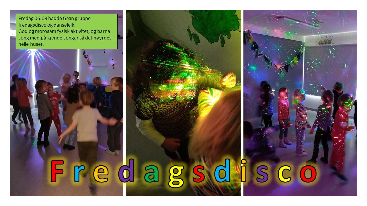 grøn disco fredag dans