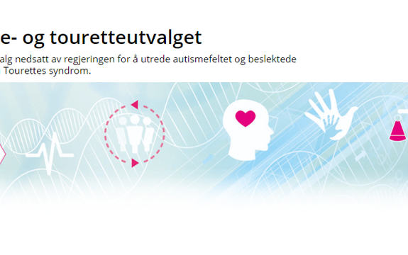 Autisme og touretteutvalget sin logo