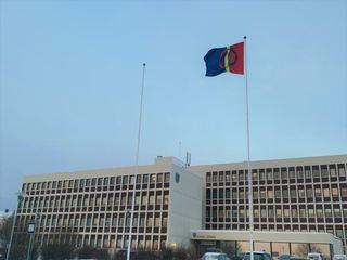 Samisk flagg-Hadsel