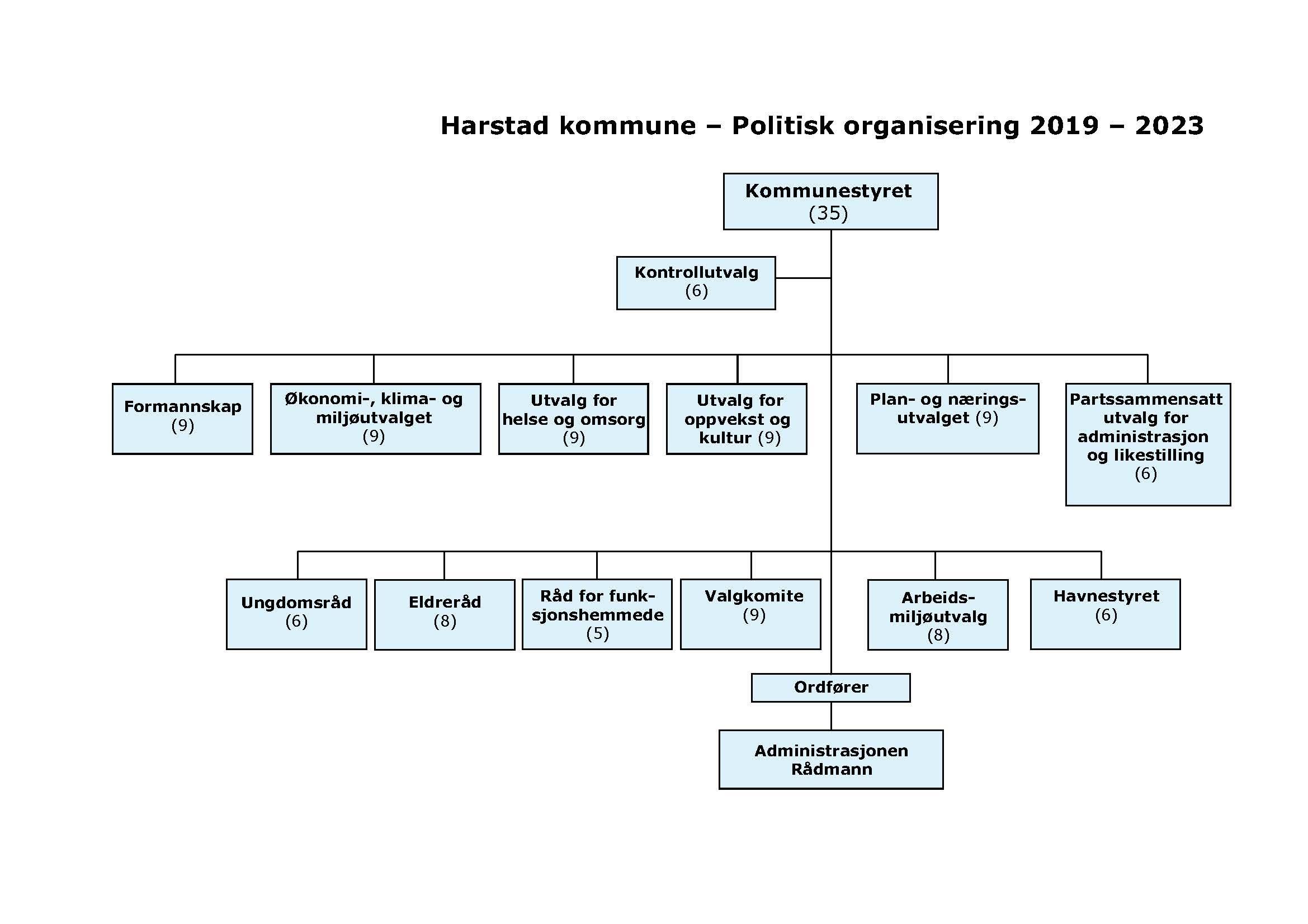 Organisasjonskart 2020