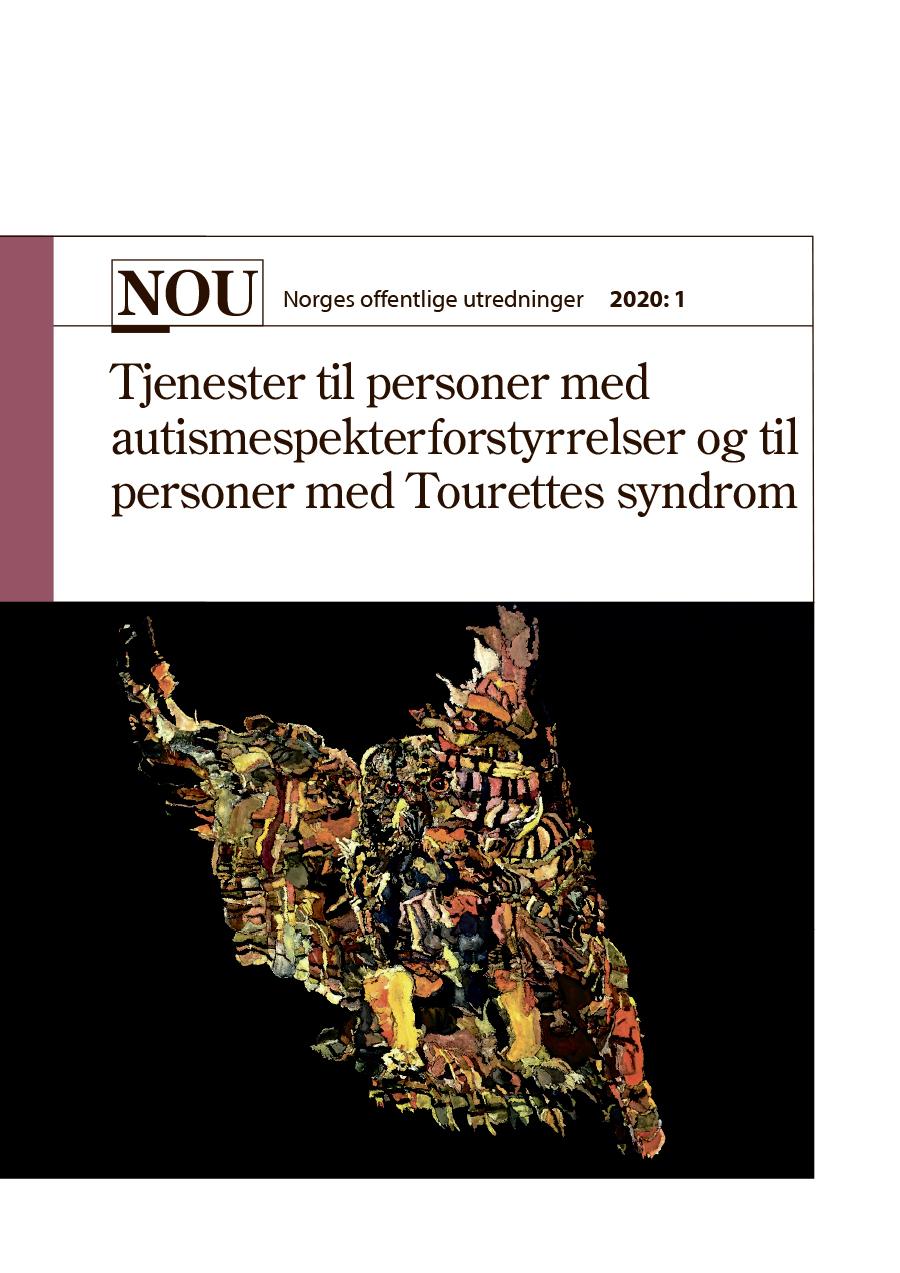 Bildet viser omslaget til NOU 2020:1