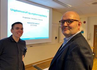 Knut Skedsmo og Thov Midsund