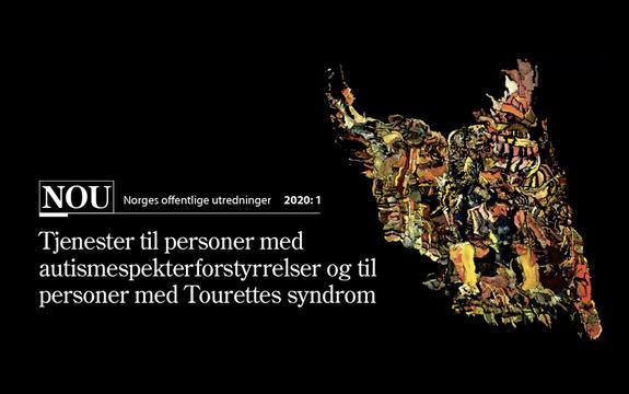 Ingressbilde til NOU 2020:1 Tjenester til personer med autismespekterforstyrrelser og til personer med Tourettes syndrom