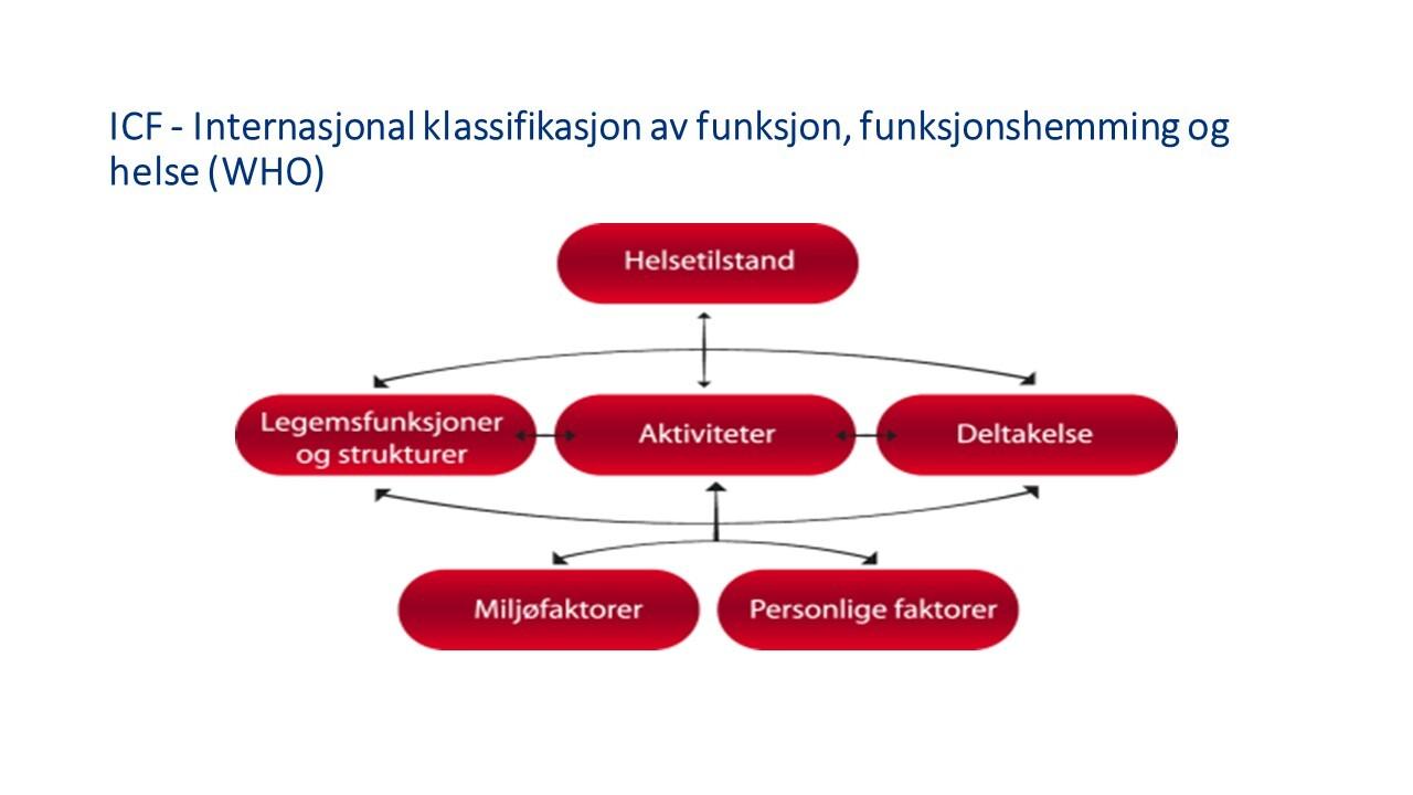 Internasjonal Klassifisering av funksjon, funksjonsnedsettelse og helse