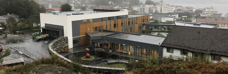 Stord sjukeheim bygget - foto