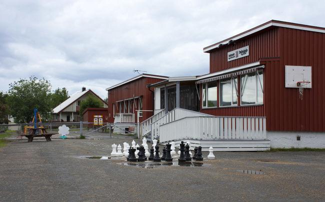 Bygning og utearealer Innhavet oppvekstsenter