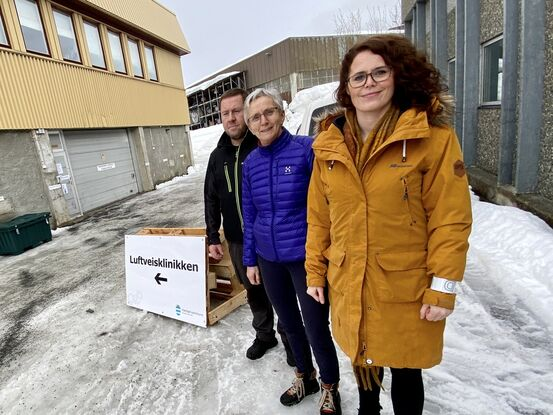 Gisle Forsaa, Anne Kristiansen og Silje A Søreng. Foto: Øivind Arvola