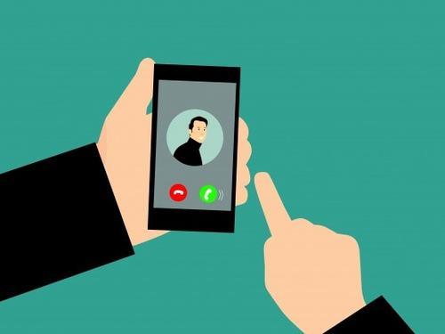 Illustrasjon av telefonvenn