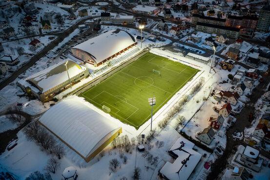Harstad stadion. Foto: Øivind Arvola