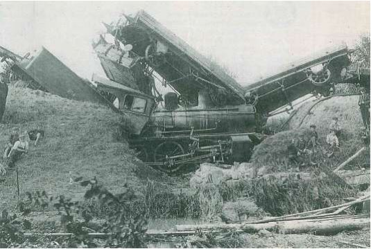 Lokomotiv kjørt ut i Gråbekken
