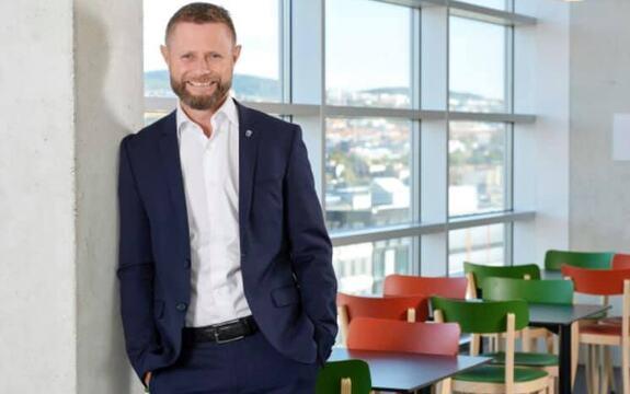 Helsesminister Bent Høye