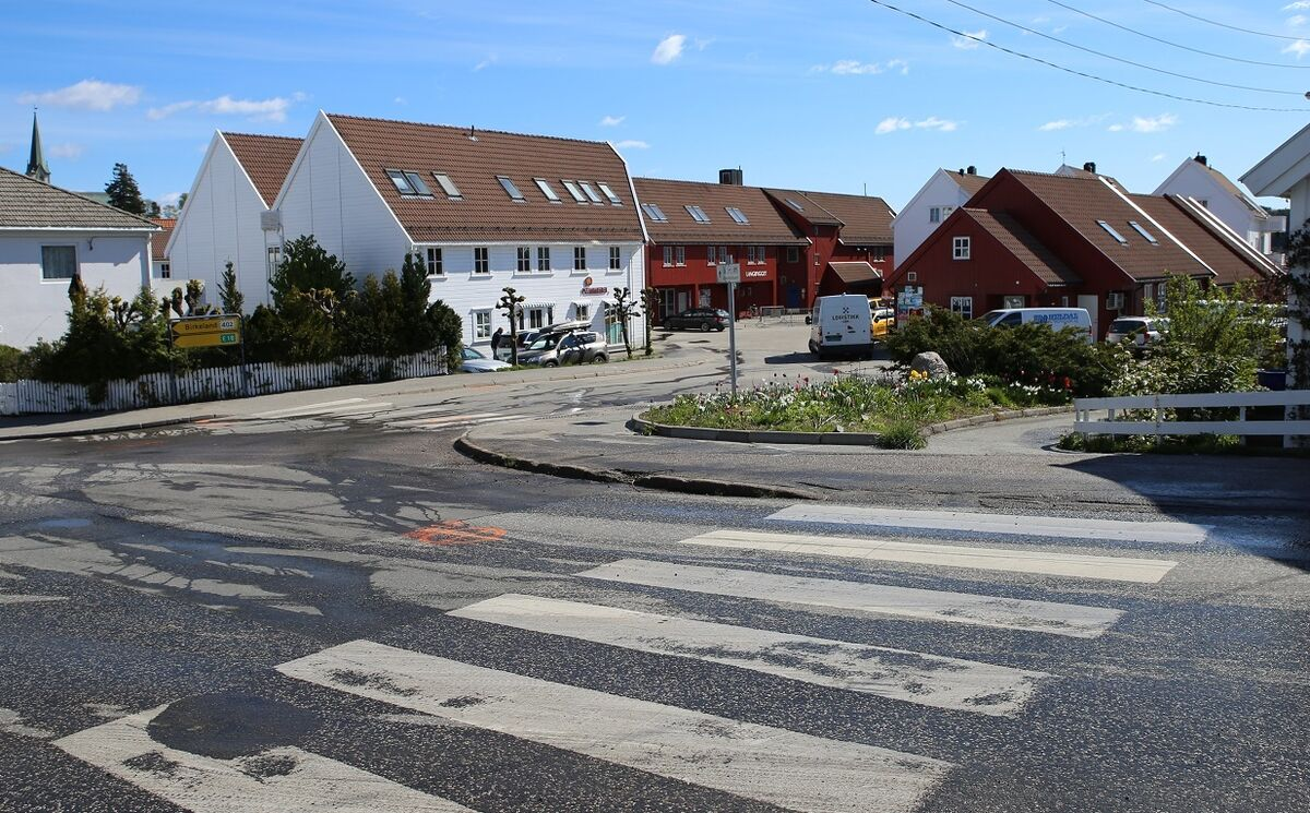 Havnegata Foto: Lillesand kommune