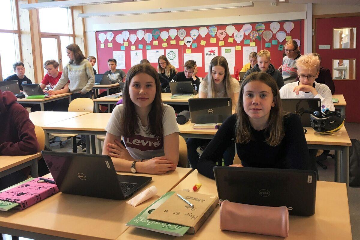 Elever ved Hagebyen skole