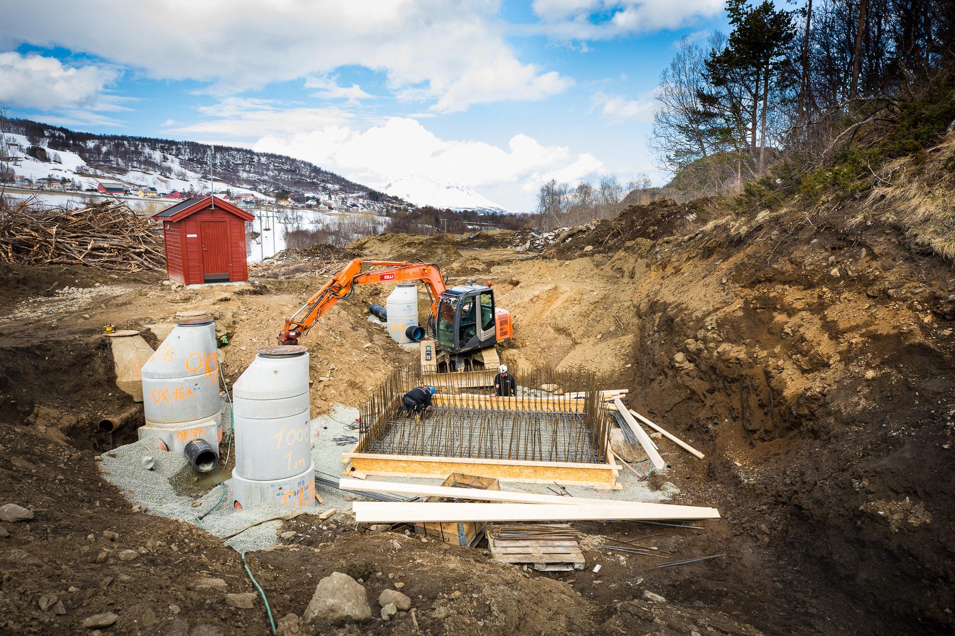 Vannledning oppgraderes i Blåbærhaugen