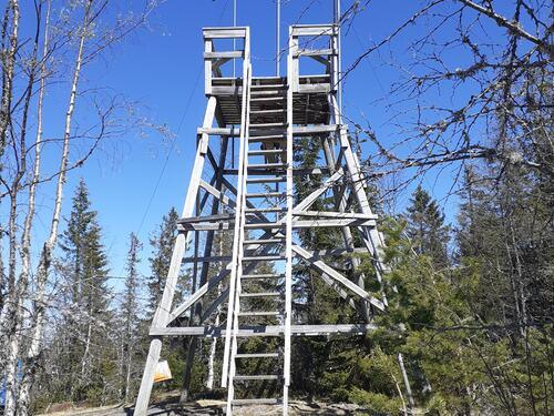 Utsiktstårn på Glomsrudkollen
