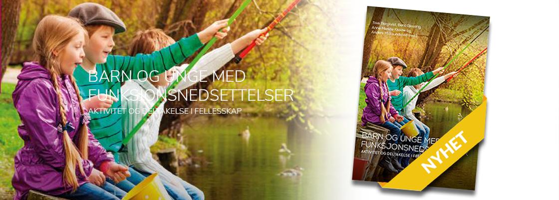 Ingressbilde til artikkel om ny bok: Barn og unge med funksjonsnedsettelser. Aktivitet og deltakelse i fellesskap