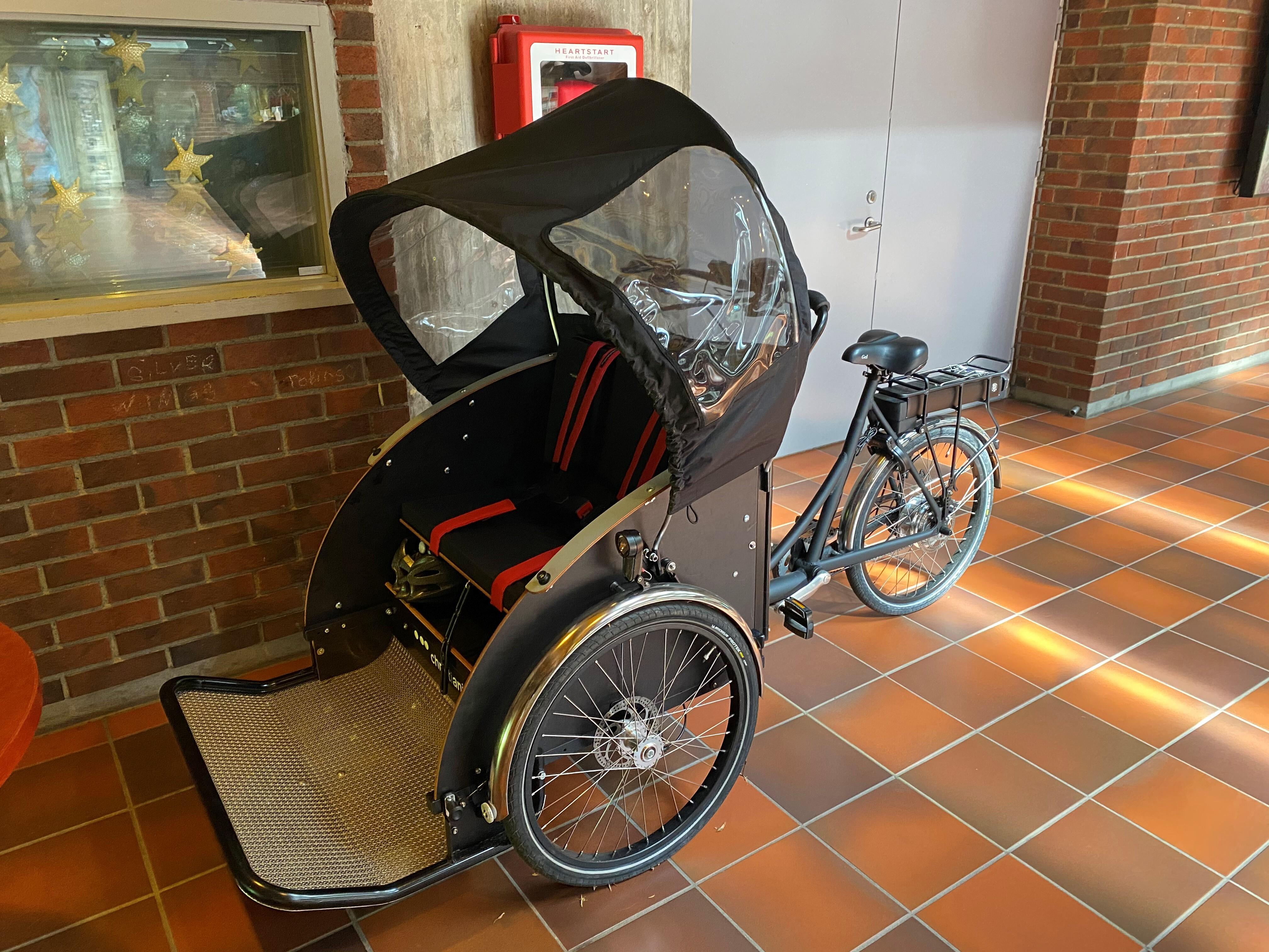 Elektrisk rickshaw (1)