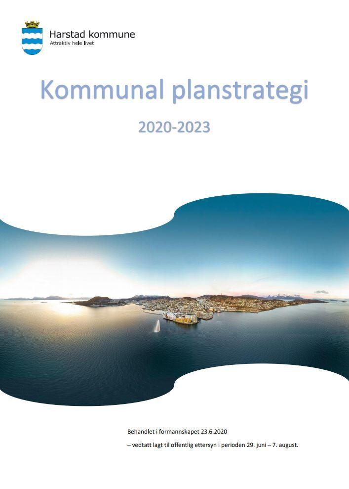 Forside forslag til planstrategi