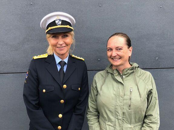 Tidligere direktør i konfliktrådet, nå direktør i kriminalomsorgen, Lise Sannerud var på åpningen av det nye fengselet i Agder. Det samme var konfliktrådets seniorrådgiver Nina Therese Solberg.