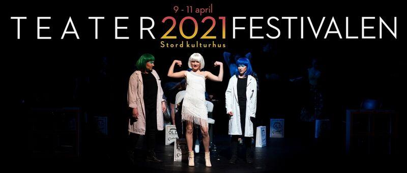 Teaterfestivalen 9 til 11 april 2021