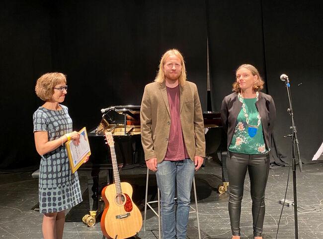 Augustprisen 2020: Kulturutøver og entusiast Johannes Roksand Fauchald.