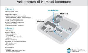 kart over rådhusene