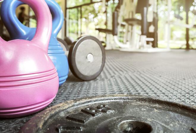 Gym fitness gym concept