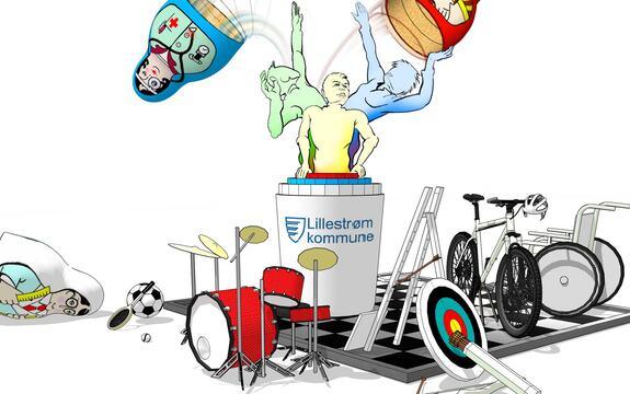 Ingressbilde til artikkel om Fritidsaktiviteter med assistanse for voksne utviklingshemmede
