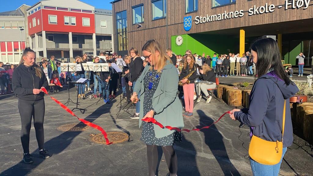 Åpning nye Stokmarknes skole