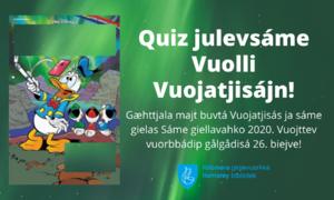 Quiz om Donald Duck på lulesamisk.