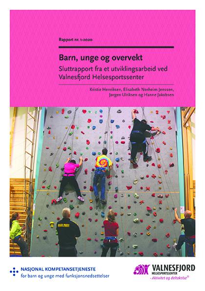 Omslagsbilde til rapporten Barn, unge og overvekt