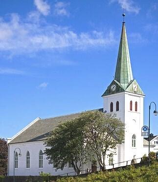 Frelserens kirke i Farsund.