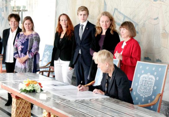 Oslo KFU har, sammen med 12 sentrale organisasjoner, signert avtalen