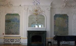 Festsalen på Husan.