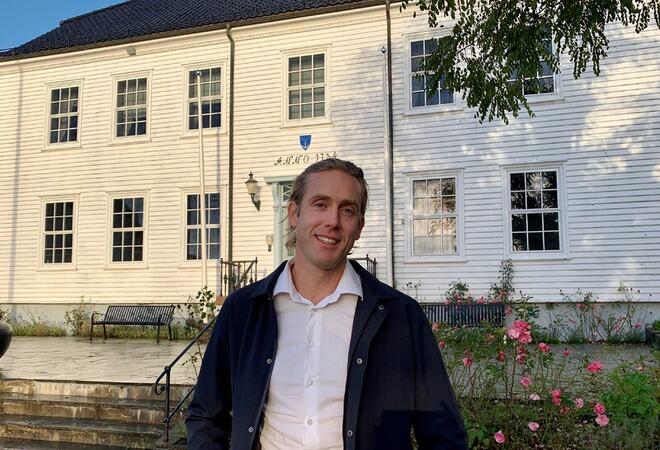 Kommuneoverlege i Lillesand kommune, Thor-Erling Engemyr.