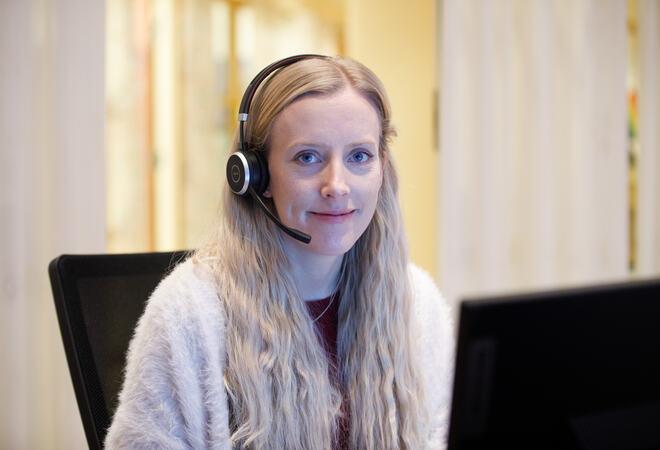 Trude Haukebø Samuelsen. Foto: Øivind Arvola