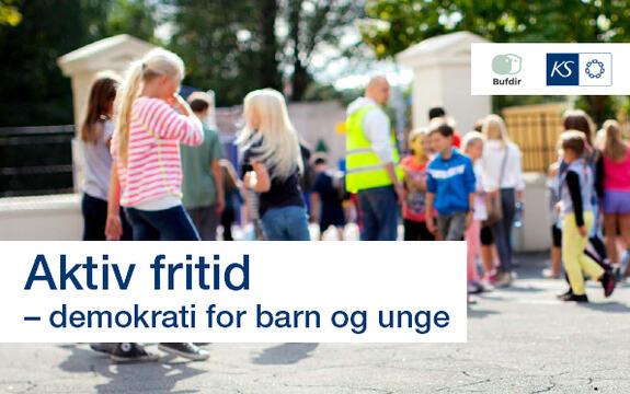 Ingressbilde til artikkel om Aktiv fritid – demokrati for barn og unge. Eksempelhefte fra Bufdir