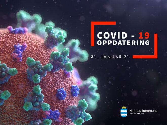 COVID-19 smitte 310121