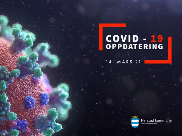 COVID-19 smitte 140321