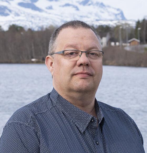 Kurt Fossvik er konstituert kommunedirektør i Hamarøy. Foto: Svetlana Gracheva