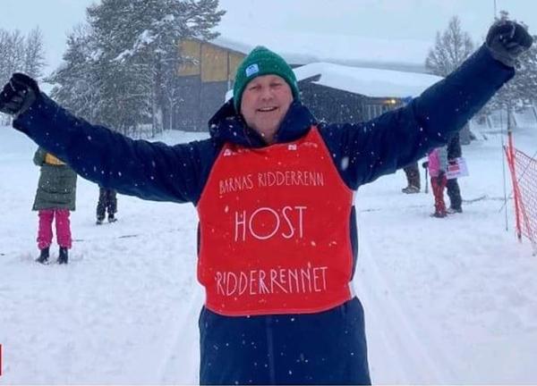 Erik Lindh, 40 år som frivillig i Barnas ridderrenn