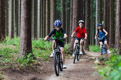 Ferdsel utmark sykkel