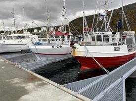 Storekorsnes fiskerihavn Pir A