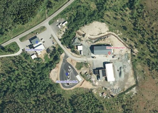 kart brannstasjon