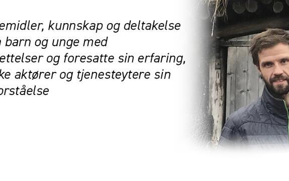 Ingressbilde til artikkel om Svein Bergems doktorgradsdisputas. Bildet viser Svein Bergem.